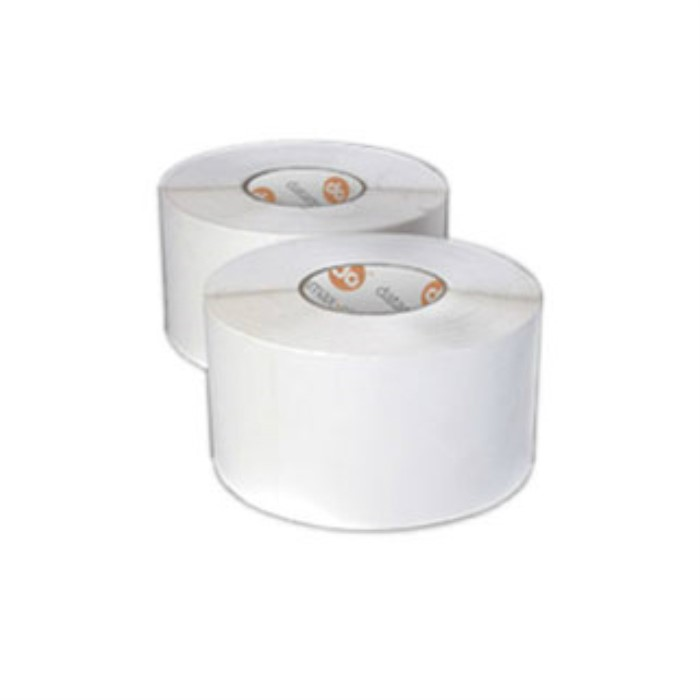 "4"" x 2"" TT label/wax ribbon kit Honeywell paper 2900/RL 4/CTN perf 3""core 8""OD"