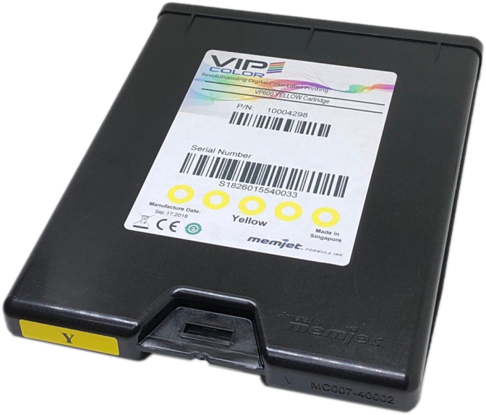 VP-600 Yellow 200ml Ink Cartridge