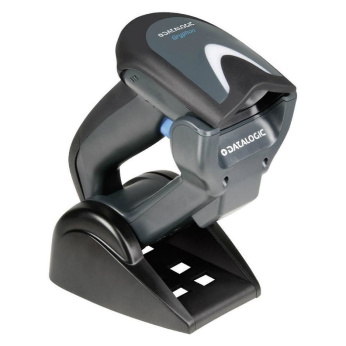 Gryphon Barcode Scanner, Charger Base, & Cable - GBT4330